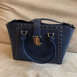Ralph Lauren Carrington Bethany Handbag in Navy!
